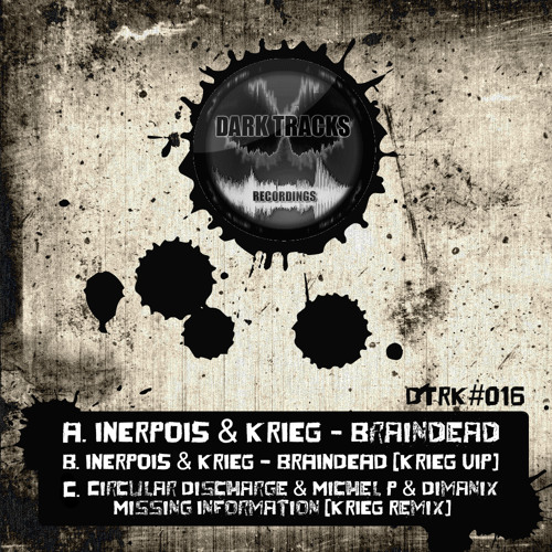 INERPOIS & KRIEG - Braindead (Original Mix) [Dark Tracks Recordings] (clip)