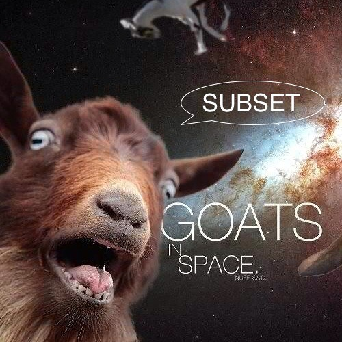 Goats In Space