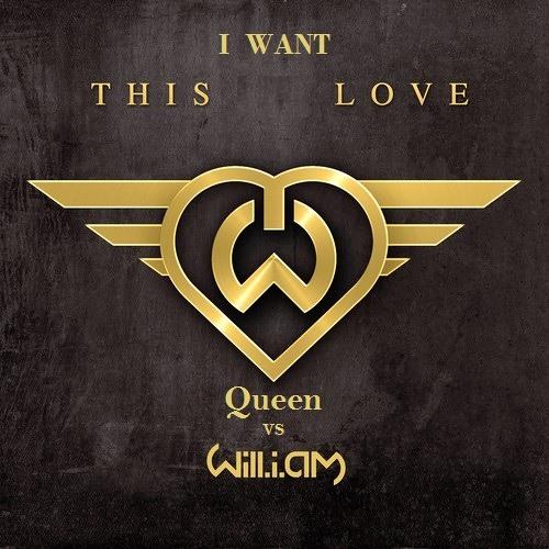 Queen vs Will.I.Am feat. Eva Simons  - I Want This Love (Presber Mahup)