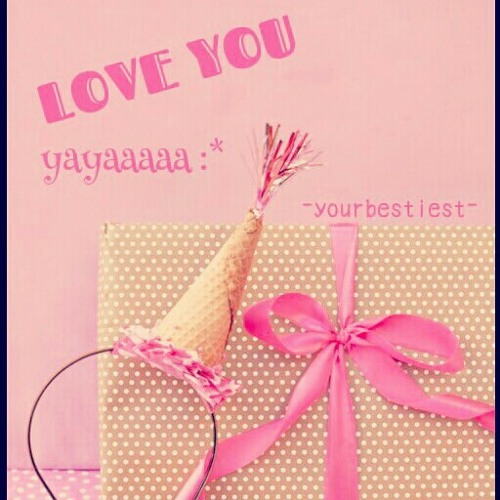 Happy Birthday To yaya :* {}