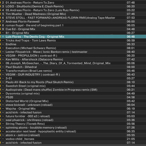 Ionic Benton - at timeless (SL)  25 02 2013 ( playlist is in the picture)