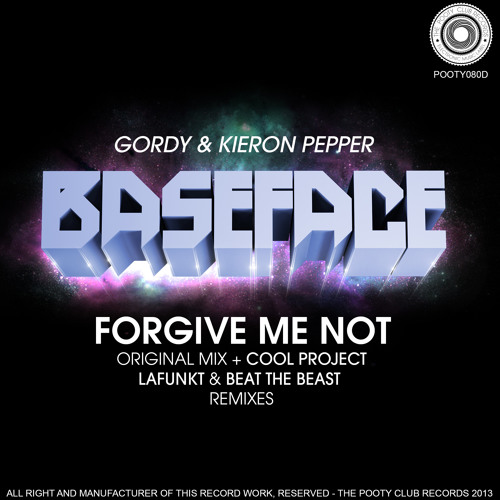 BaseFace - Forgive Me Not (Beat The Beast Remix) [OUT NOW ON BEATPORT]