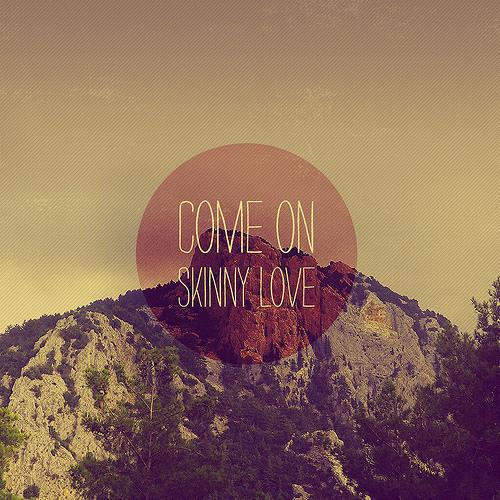 Skinny love (cover)