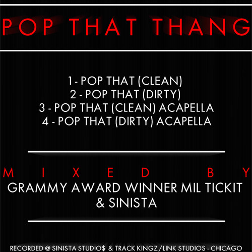Mil Tickit - Pop That Thang (Dirty)