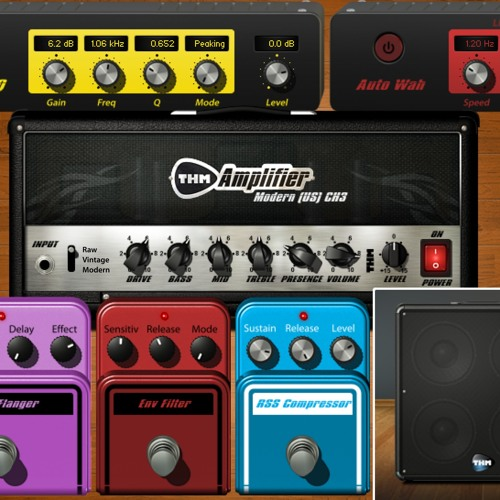 The Overloud THM plug-ins for Auria