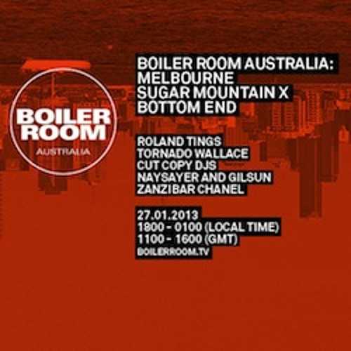 Roland Tings LIVE in the Boiler Room