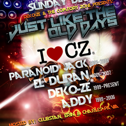 JUST LIKE THE OLD DAYS * 2012 feat Paranoid Jack & El Duran (Back 2 Back - Part 2)