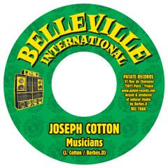 """Barbés.D meets Joseph Cotton, Don Camilo 7"""" OUT NOW on Belleville International"""