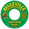 Barbés.D meets Joseph Cotton, Don Camilo 7inch/Belleville International SOON AVAILABLE