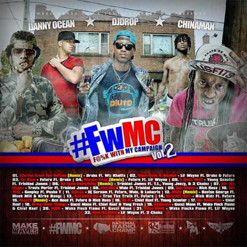 #FWMC Vol.2 Backseat - Gucci Mane Ft. Waka Flock Flame & Chief Keef