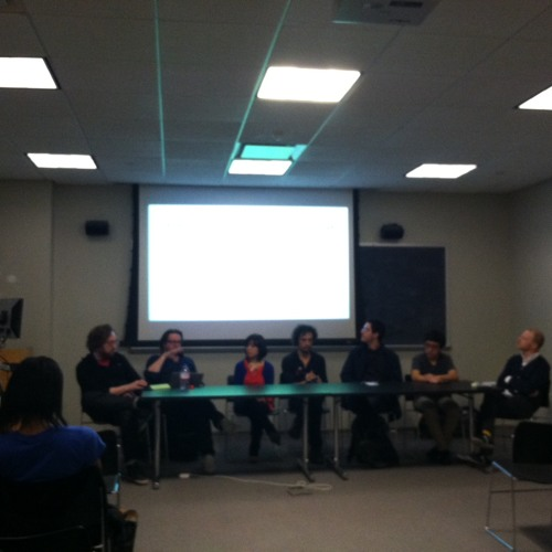 CUNY Hacktivism Panel @ SMW13: Laura Sherling of GreenspaceNYC