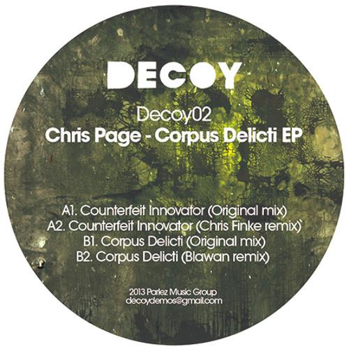 Chris Page - Counterfiet Innovator (Chris Finke remix)