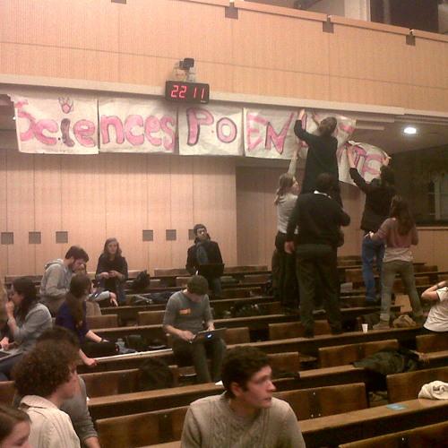 #Occupyboutmy la position de l'UNEF
