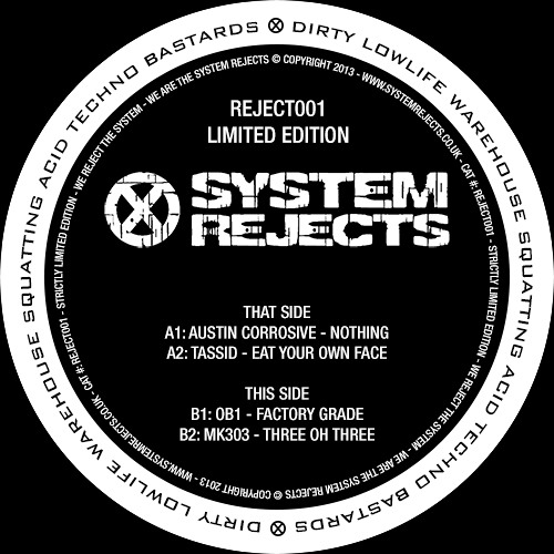 REJECT001-B2 - MK303 - Three Oh Three (preview)