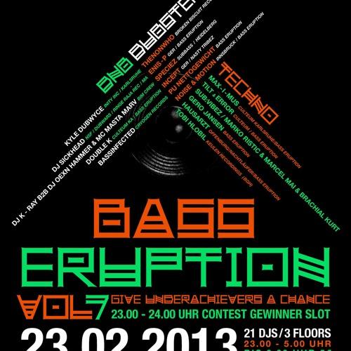 Subvibez Team - Marcel Mai & Marko Ristic @ Bass Eruption Vol. 7 / Culteum Ka 23.02.13