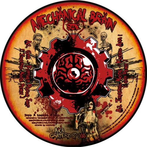 """MCB / GRATERZ SP666 12"""" - Infernal Noise - Kicking Ass (GRR - Remix)"""