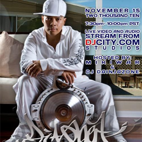DJ QBert - MikiDz Show - Nov 15, 2010