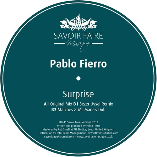 Pablo Fierro - Surprise (Matches and Ms. Mada Dub)
