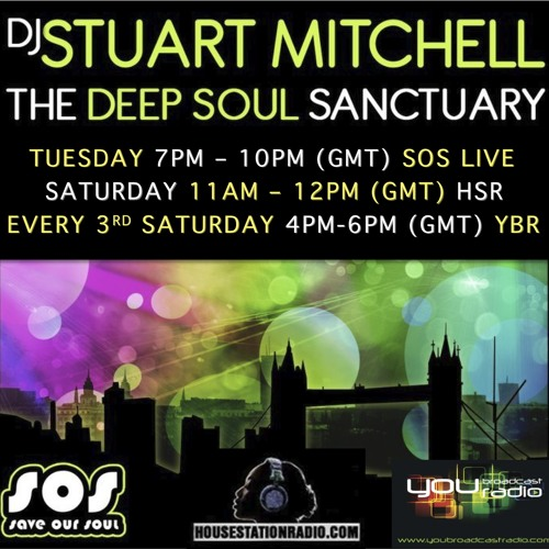 Stuart Mitchell presents The Deep Soul Sanctuary show on SOS LIVE with guest DJ Tony Perry - 260213