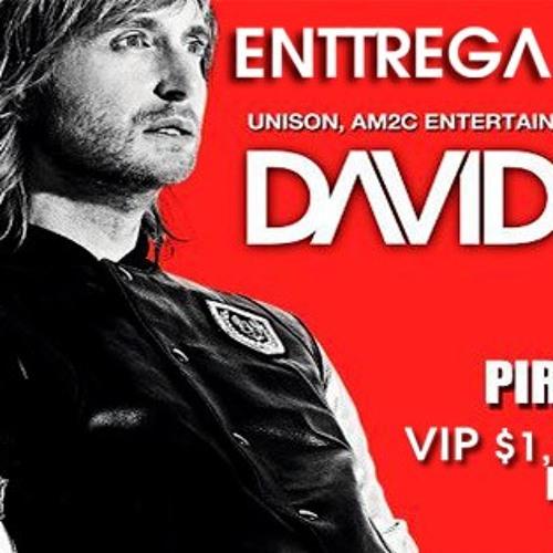 David Guetta puebla