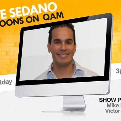 Jorge Sedano Podcast 2-28-13