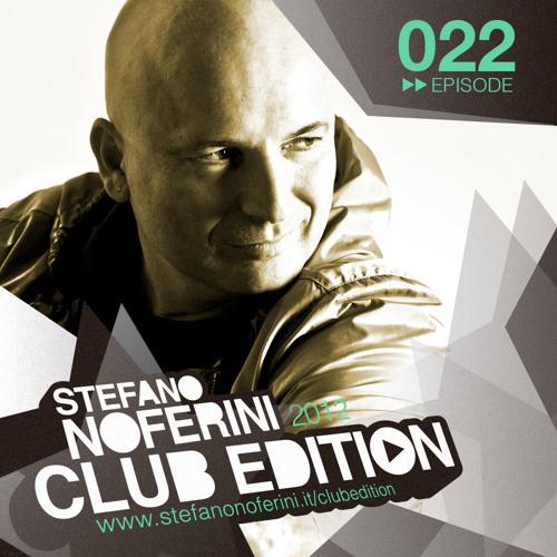 Club Edition 022 with Stefano Noferini