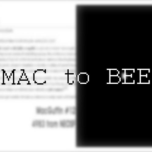 MAC to BEEP
