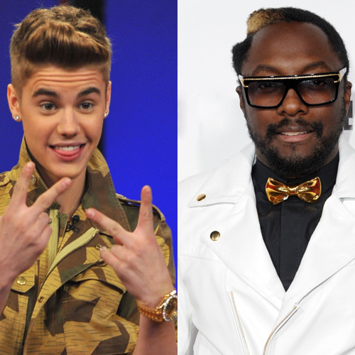 Direct from Hollywood: Justin Bieber Teams Up With Will.i.am