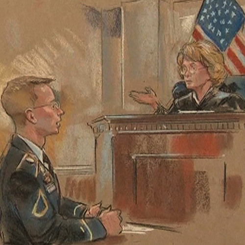 """WikiLeaks Whistleblower Bradley Manning Says He Wanted to Show the Public the """"True Costs of War"""""""