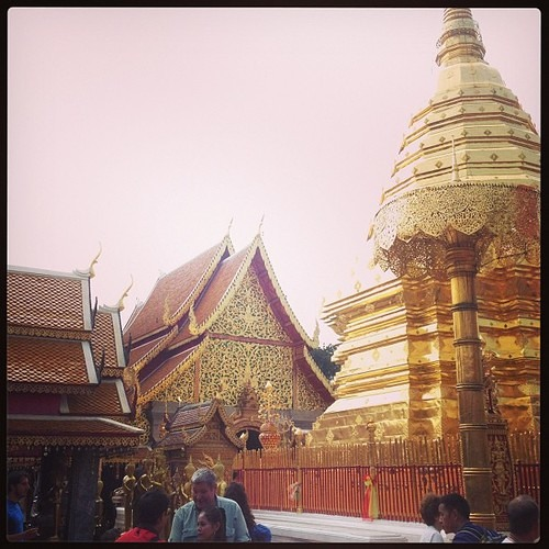 Sounds from Doi Suthep Temple Chiang Mai