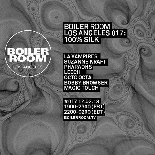 Bobby Browser 25 Minute Boiler Room Los Angeles Mix