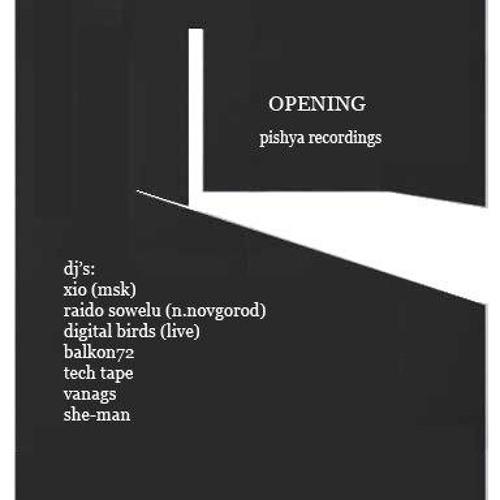 Raido Sowelu(Live set at Pishya Recordings opening)St.Petersburg-Chines Pilot Djao Da 28.07.2012