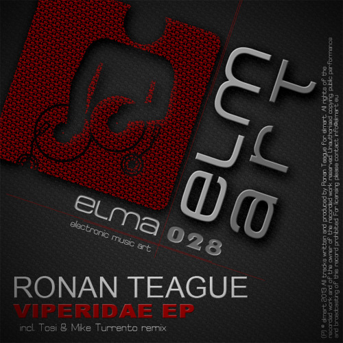 Ronan Teague - Viper (Mike Turrento Remix) PREVIEW Coming Soon on Elmart