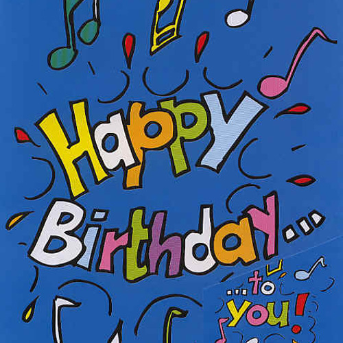 My own Happy Birthday song performed by Tamara Duff ( Vocals).