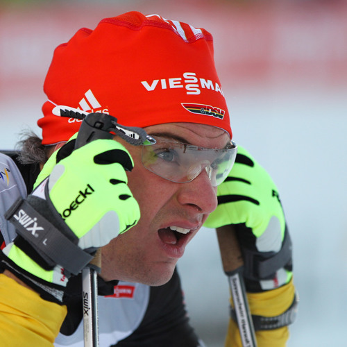 Hannes Dotzler nach dem 50 km-Massentstart (03.03.2013)