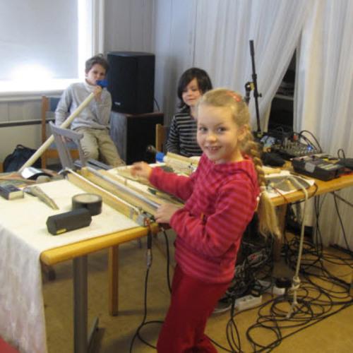 Sagene skolekorps' Drivhus-verksted 03.03.13