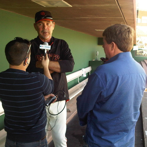 Bruce Bochy, Giants manager, joins the MLB Network Radio Spring Training Tour