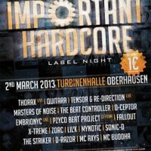 Embrionyc - Live @ Important Hardcore Labelnight (02.03.2013)