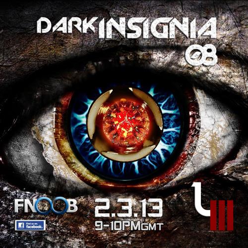 darkINSIGNIA 08 - With L3 - Fnoob Techno Radio - 02.03.2013