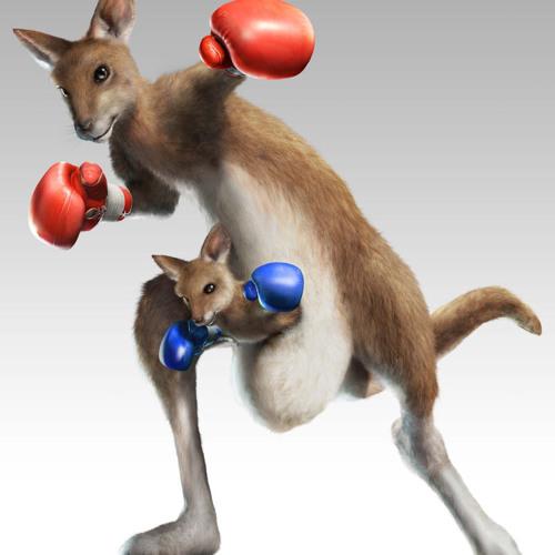 Tekken: Roger jr Hip Hop - Kangaroo