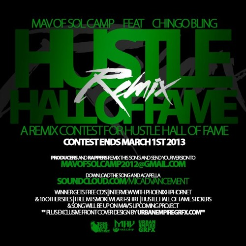 Mav - Hustle Hall Of Fame-Remix! (feat. Chingo Bling) [Prod. by King J Tellem]