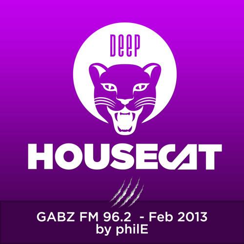 Deep House Cat Show - 96 Min Mix- Gabz FM- with DJ philE- 2013/02/19