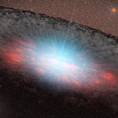 Clocking the speed of a Supermassive black hole