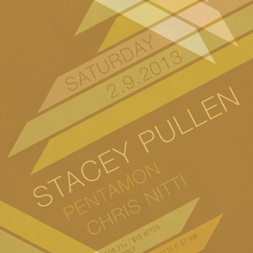 Stacey Pullen, Live at U Street Music Hall, February 9 2013