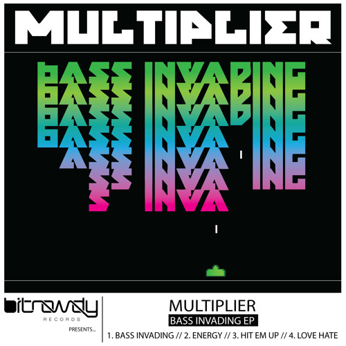 Multiplier - Love Hate (Original Mix) [Bit Rowdy Records]