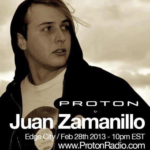 Guest mix for Edge City Proton Radio 2013