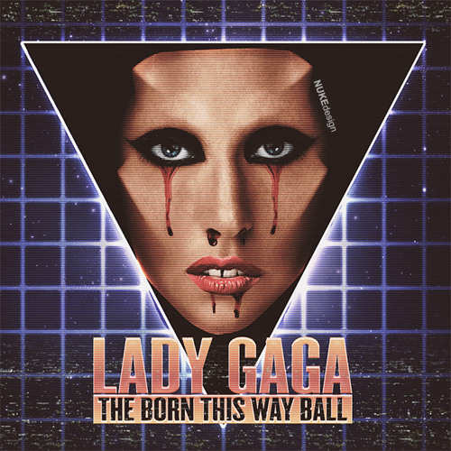 Lady Gaga - Bloody Mary - BORN THIS WAY BALL TOYOTA CENTER