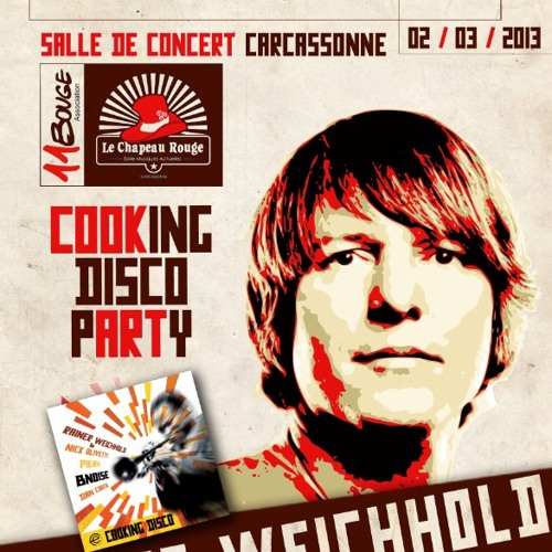 Rainer Weichhold - live dj-set in Carcassonne (France) 02-03-2013