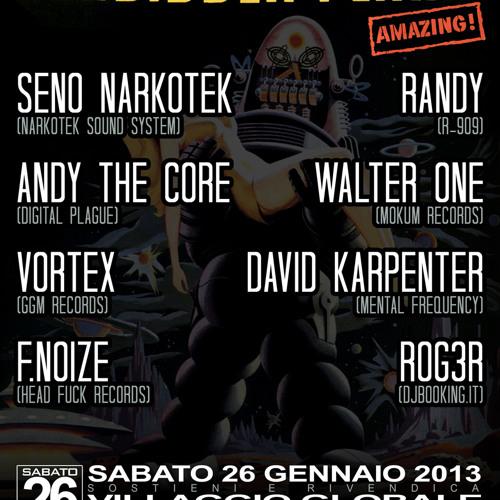 Andy The Core @ Forbidden Planet - Villaggio Globale (26.01.2013)