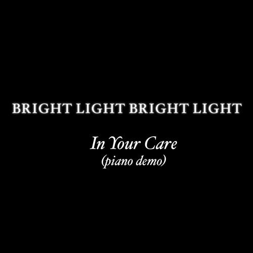 In Your Care [live solo piano demo]